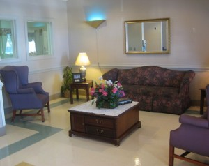 Our Lobby Sitting Area